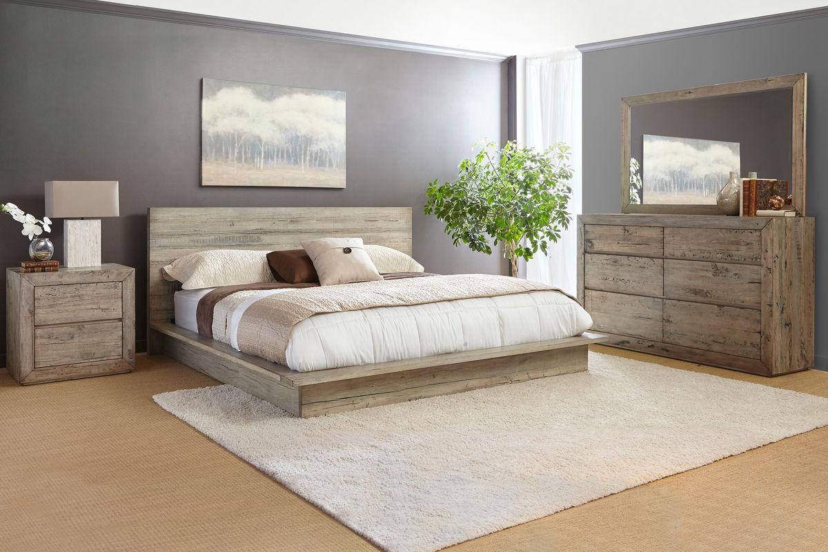 Renewal Reclaimed Wood Queen Bed