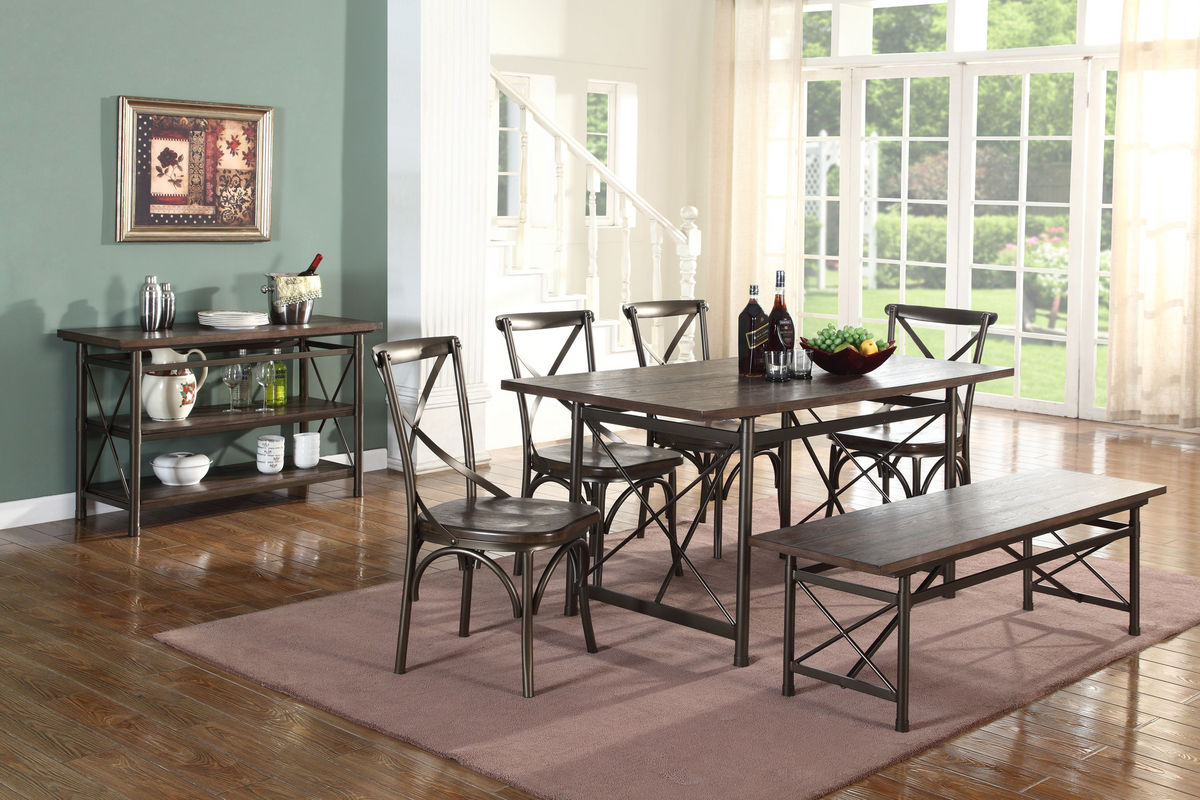 perfect rana furniture living room. Nevada Table + 4 Side Chairs Bench From Gardner-White Furniture Perfect Rana Living Room