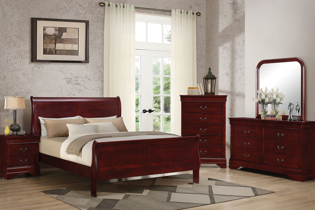 empire 5 piece queen bedroom set