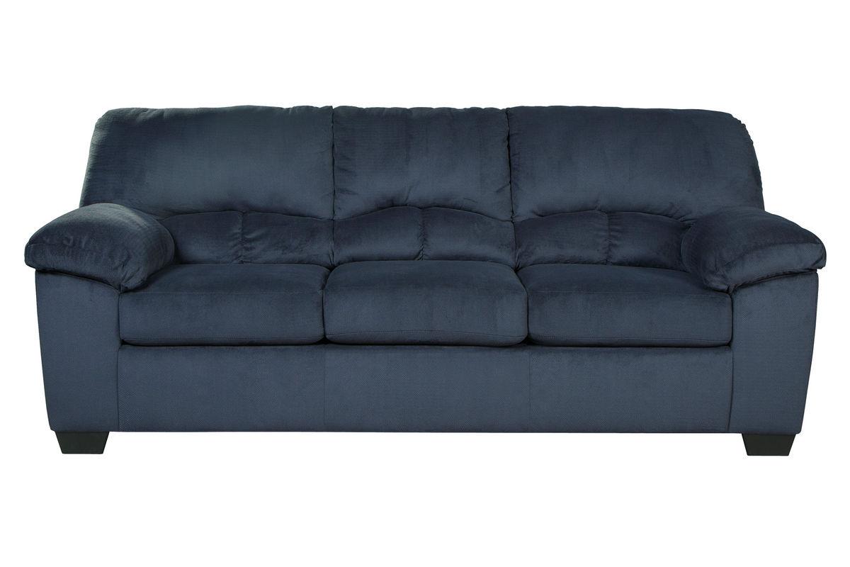 Midnight Microfiber Sofa At Gardner White