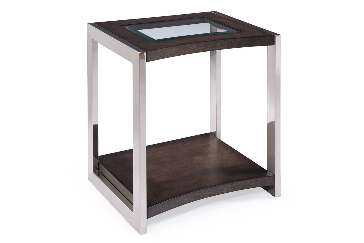 Graphite End Table from Gardner-White Furniture