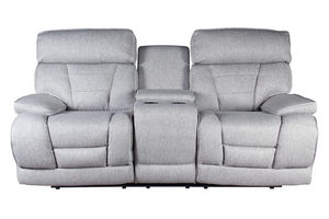 Drake Leather Power Reclining Loveseat