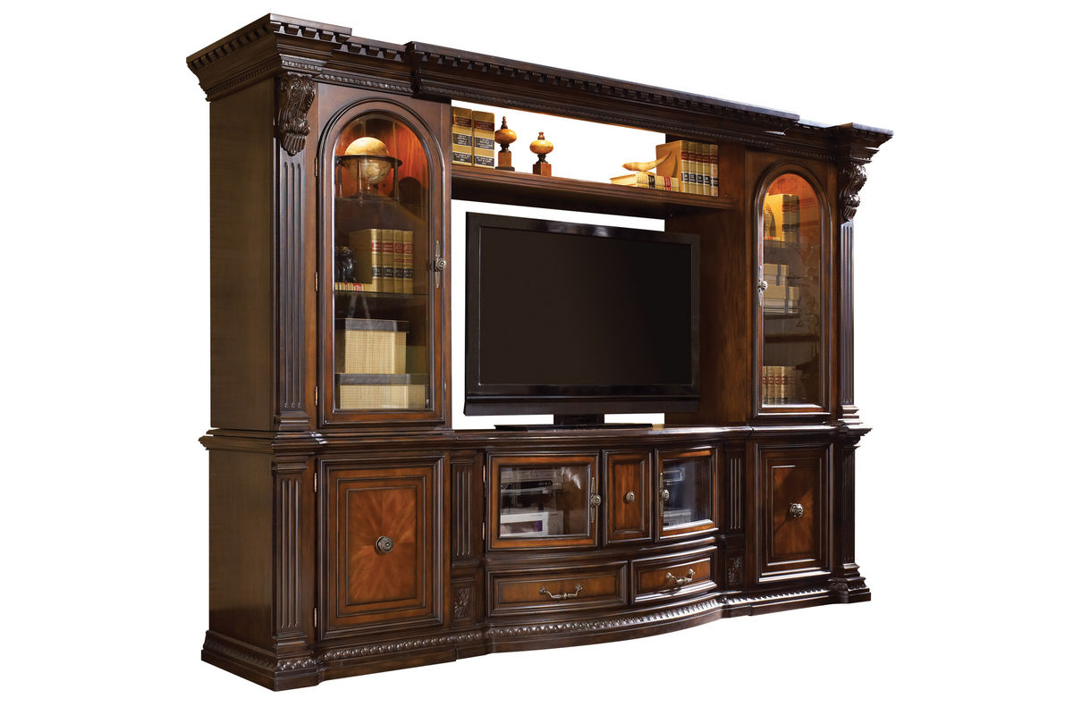 Cabernet Entertainment Center - Console Only from Gardner-White Furniture