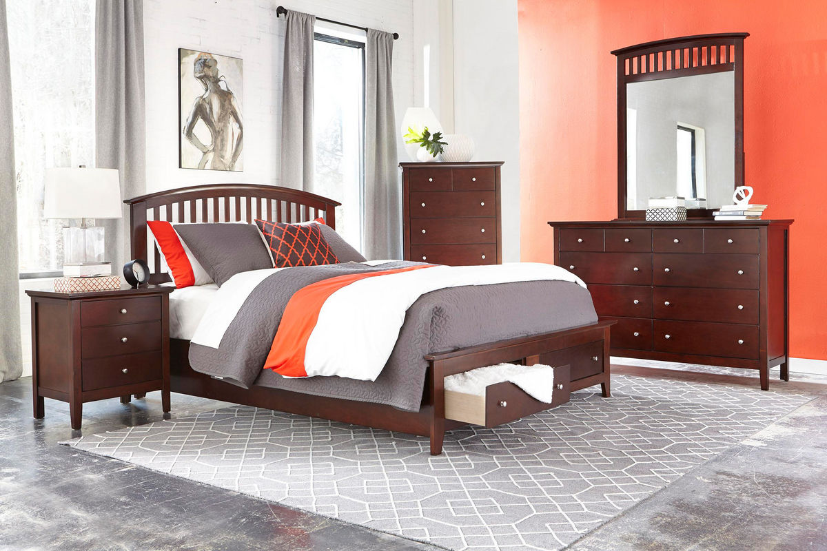 Mason 5-Piece Queen Bedroom Set at Gardner-White