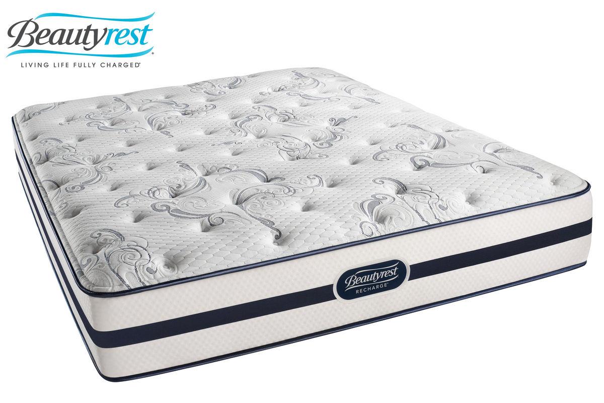 beautyrest recharge aimee queen mattress from furniture