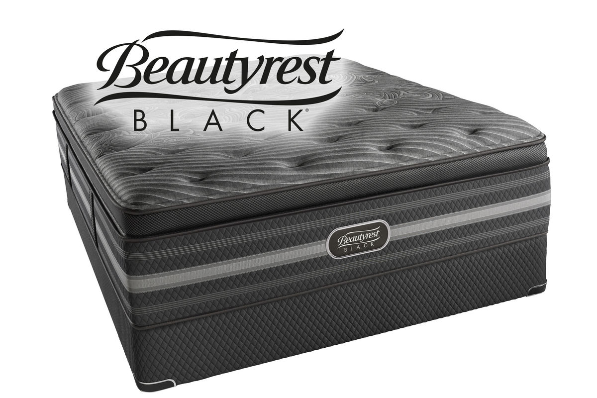 Beautyrest 174 Black 174 Natasha Queen Mattress At Gardner White