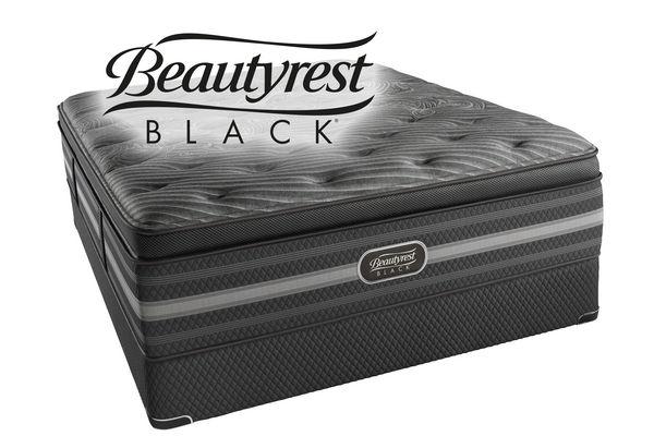 Beautyrest black natasha queen mattress at gardner white for Bedroom furniture 98383