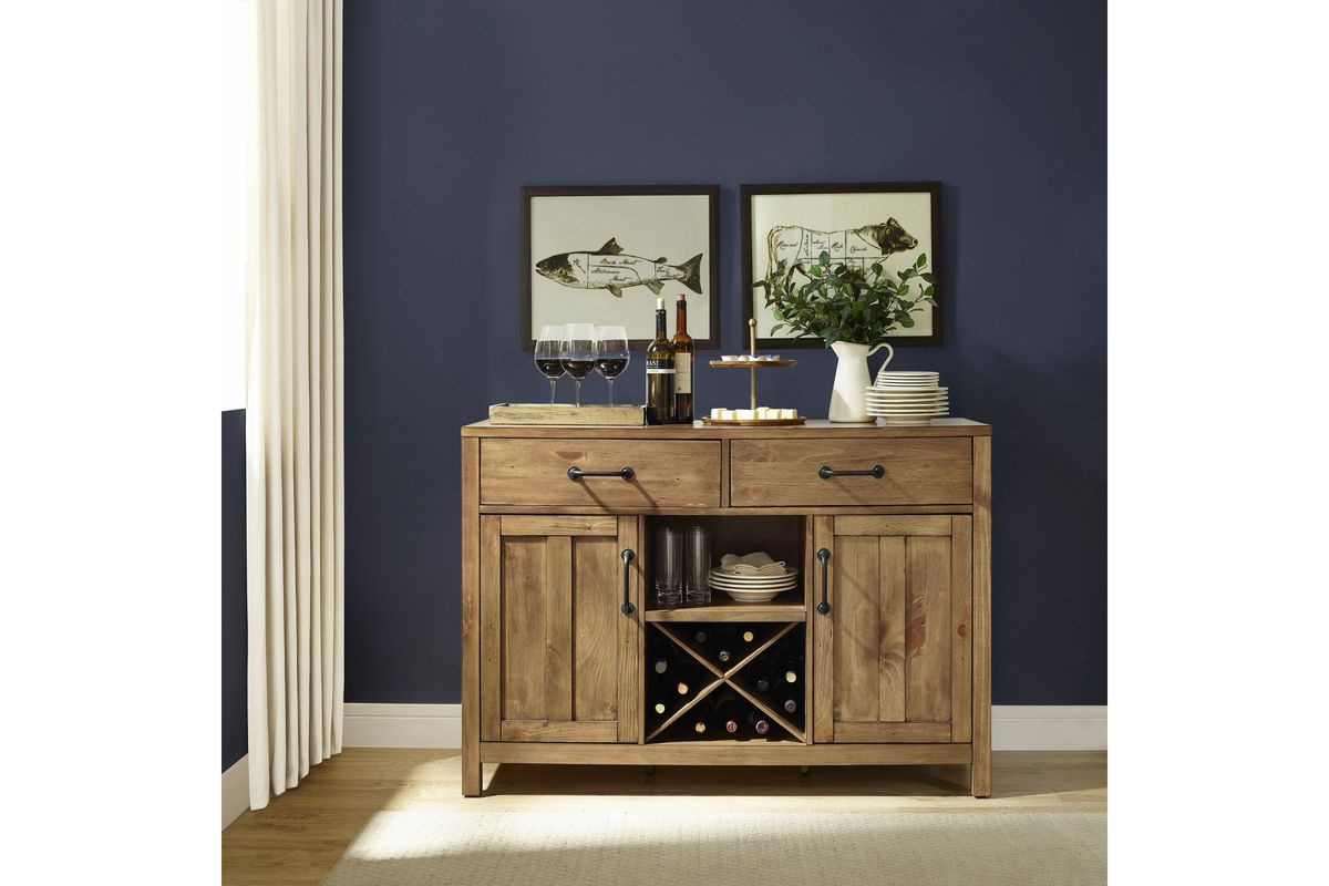 Roots Buffet In Natural By Crosley At Gardner White