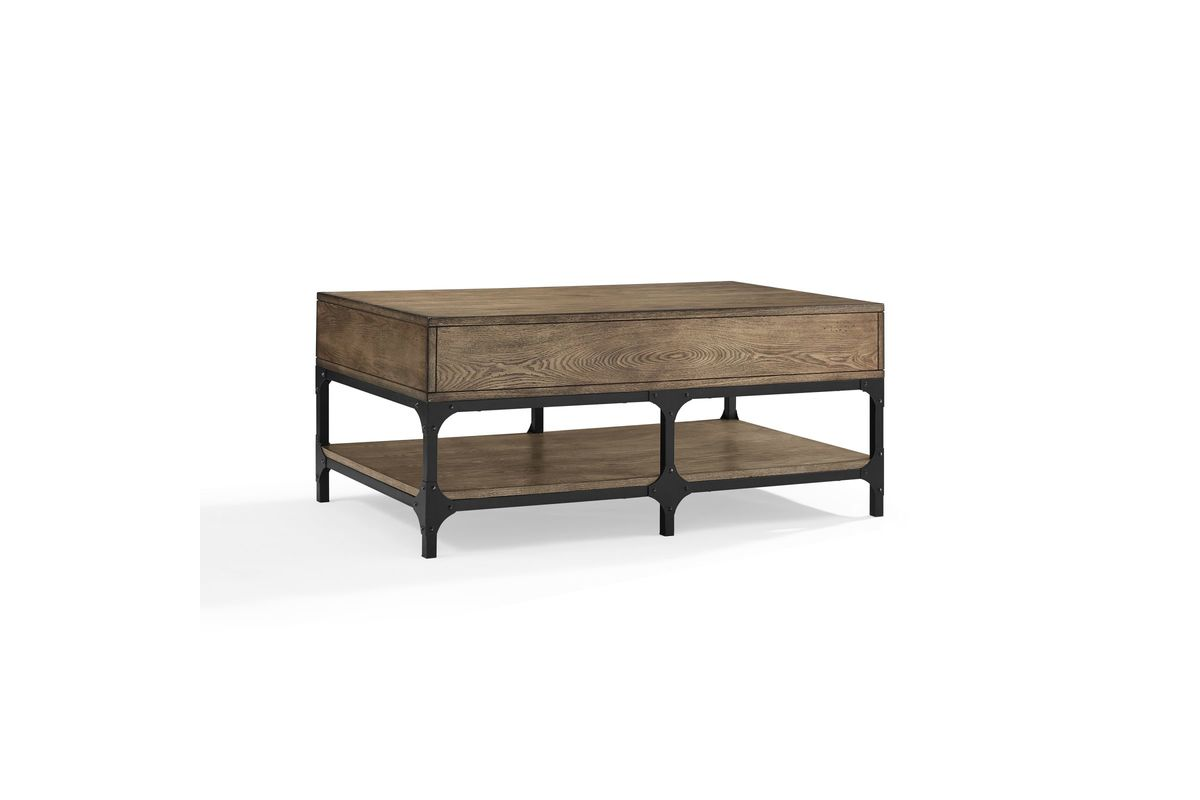 Trenton Coffee Table in Coffee by Crosley