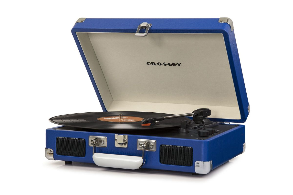 Cruiser Deluxe in Blue by Crosley from Gardner-White Furniture