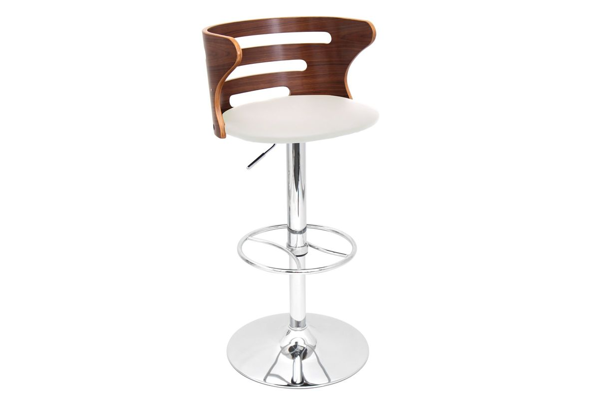 Cosi Height Adjustable Barstool with Swivel by LumiSource from Gardner-White Furniture