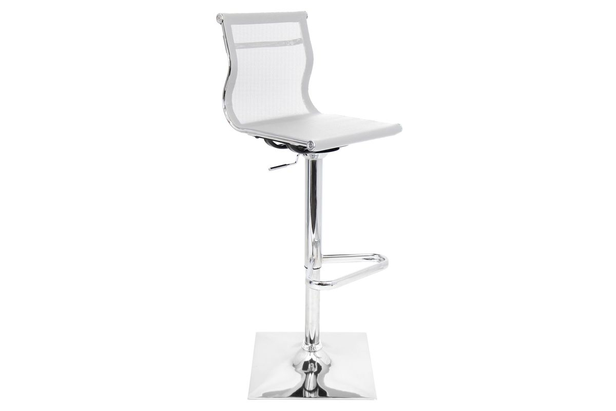 Mirage Height Adjustable Barstool with Swivel by LumiSource from Gardner-White Furniture
