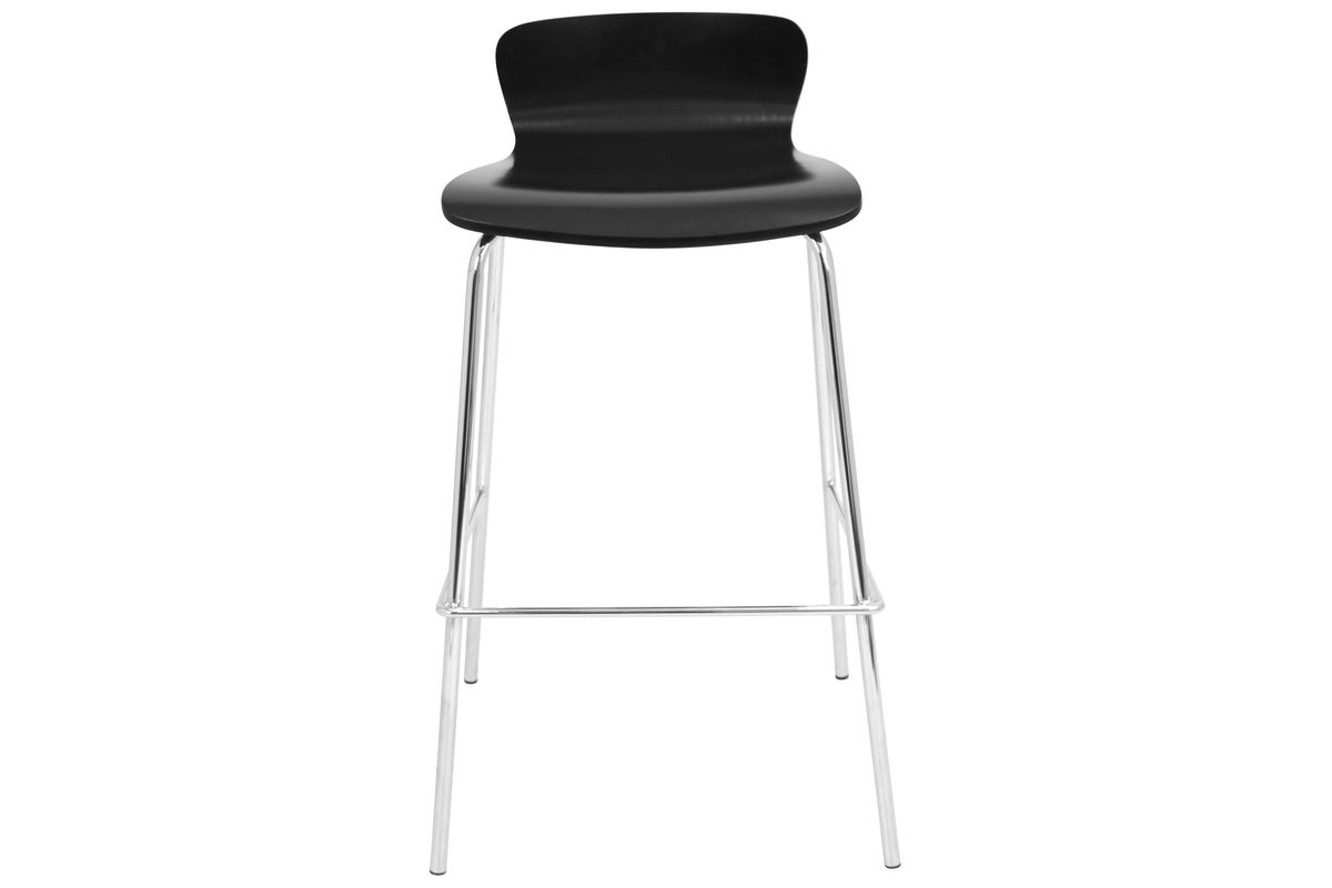 Woodstacker Stackable Barstool In Black Set Of 3 By