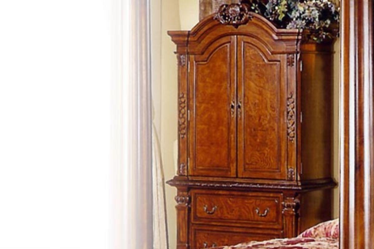 Monaco Pecan TV Armoire From Gardner White Furniture