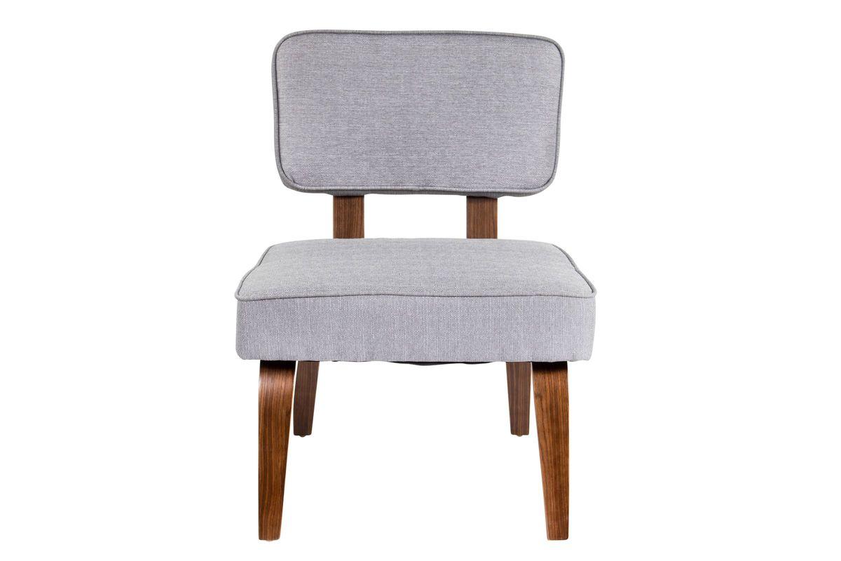 Nunzio Mid Century Modern Accent Chair In Grey By Lumisource