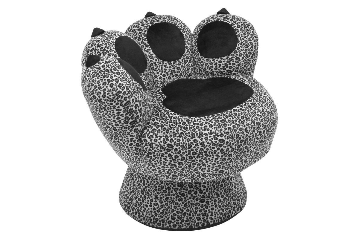 Paw Chair in Snow Leopard by LumiSource at Gardner-White