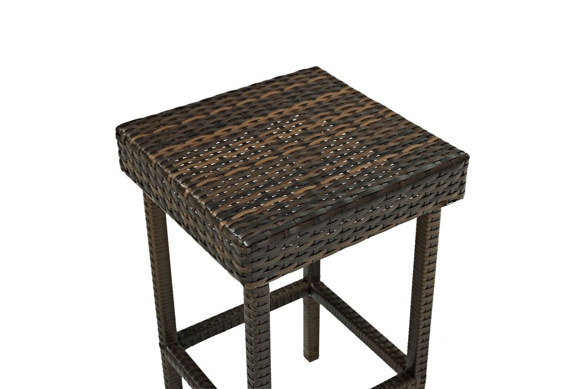 Palm Harbor Outdoor 29 Quot Bar Height Stool Set Of 2 In Brown