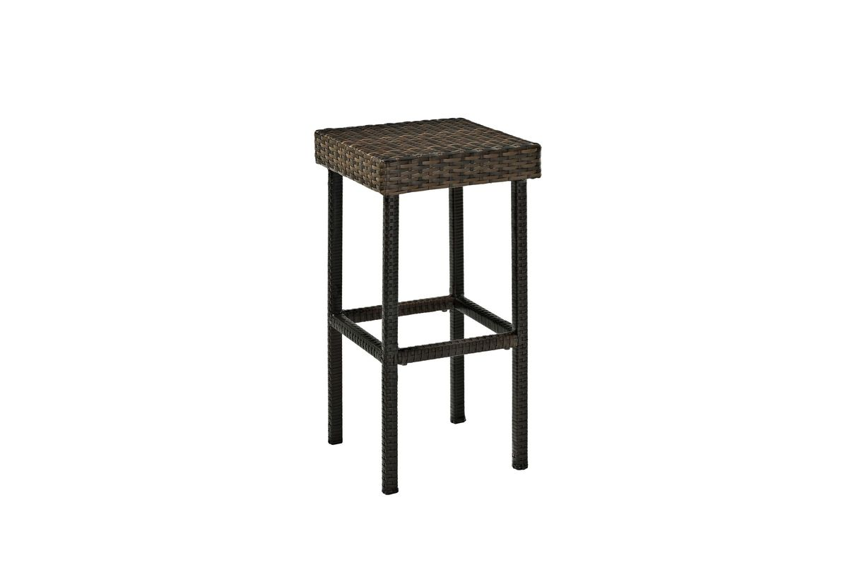 Palm Harbor Outdoor 24 Counter Height Stool Set Of 2 In Brown By