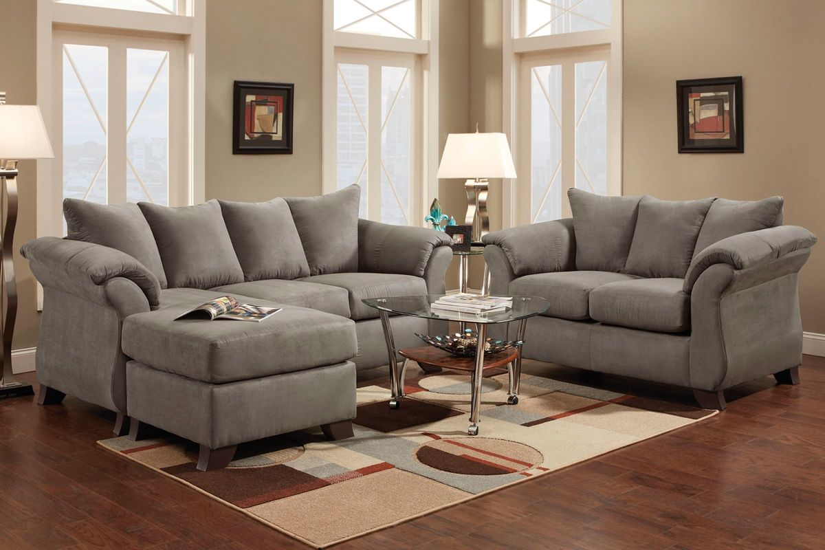 Upton 7 piece big picture package with 2 led tvs at - Gardner white furniture living room ...