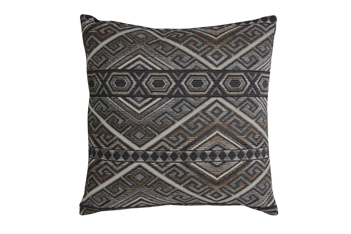Erata Pillow in Grey/Brown by Ashley from Gardner-White Furniture