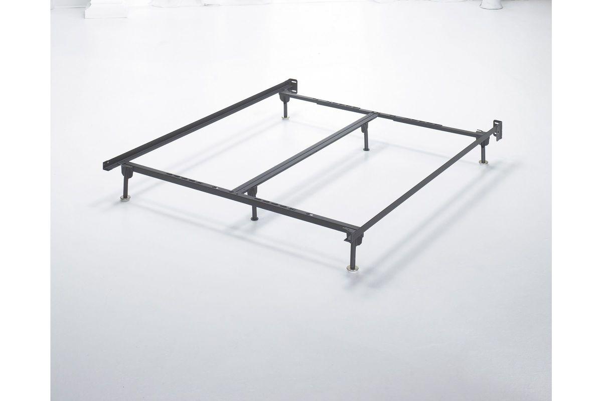 Frames And Rails Q K Ck Bolt On Bed Frame In Black By Ashley