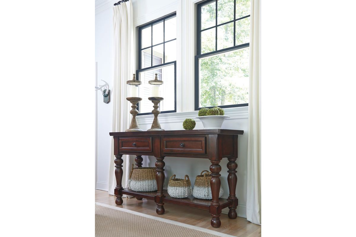 Porter Dining Room Server in Rustic Brown by Ashley at ...
