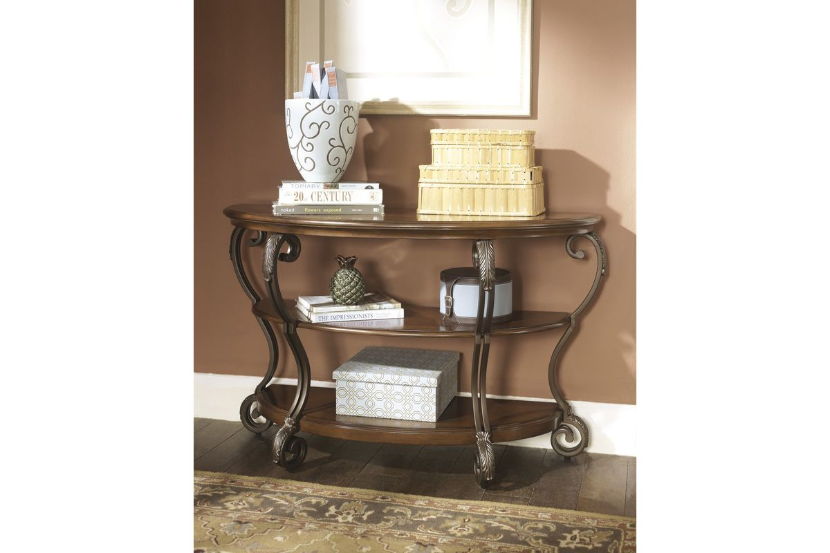 Nestor Sofa Table by Ashley from Gardner-White Furniture