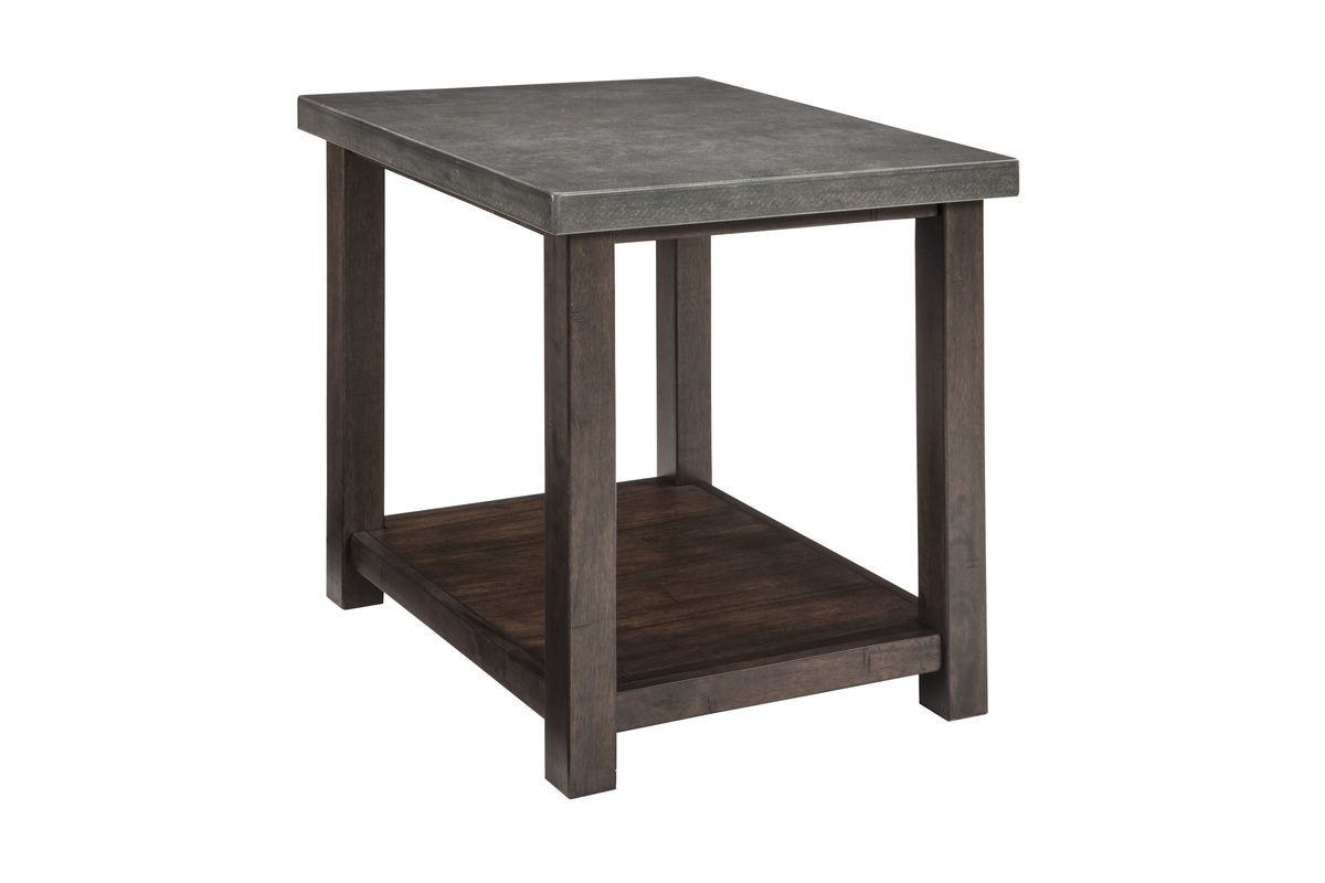 Starmore Chair Side End Table In Gray Brown By Ashley