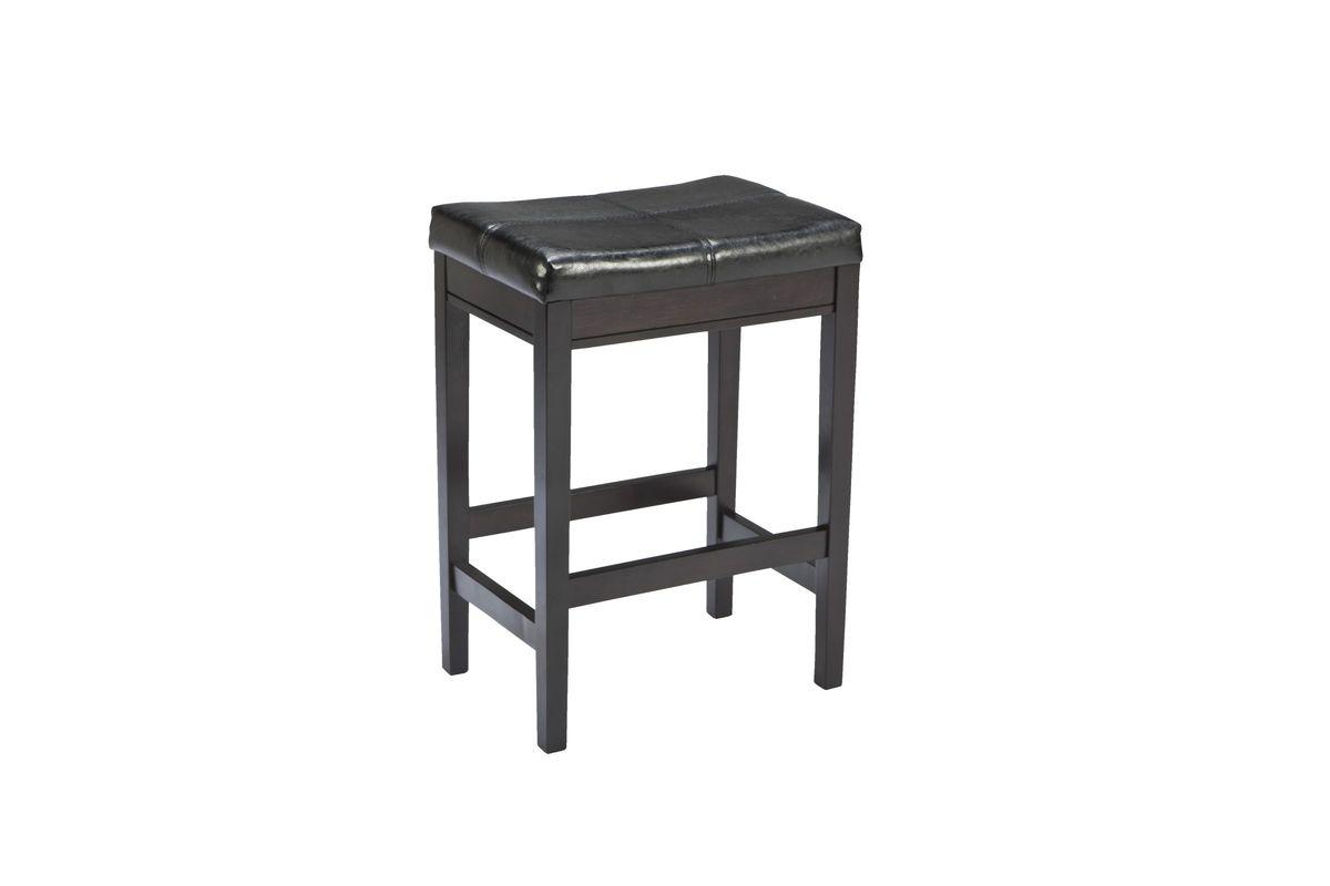 Kimonte Bar Stools in Dark Brown Set of 2 by Ashley from Gardner-White Furniture