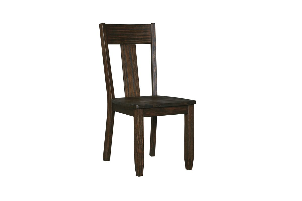 Trudell Dining Room Side Chairs in Dark Brown Set of 2 by Ashley from Gardner-White Furniture