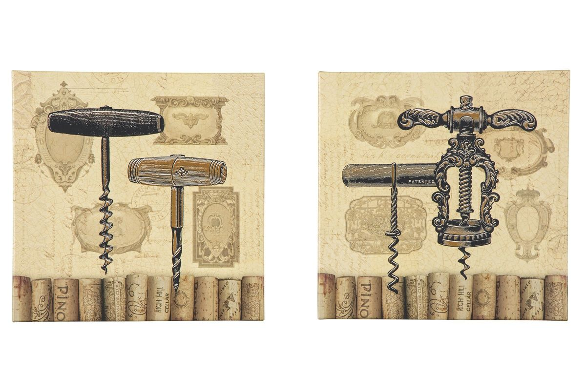 Offie Wall Art Set in Tan, Brown and Black by Ashley*FDROP-170629