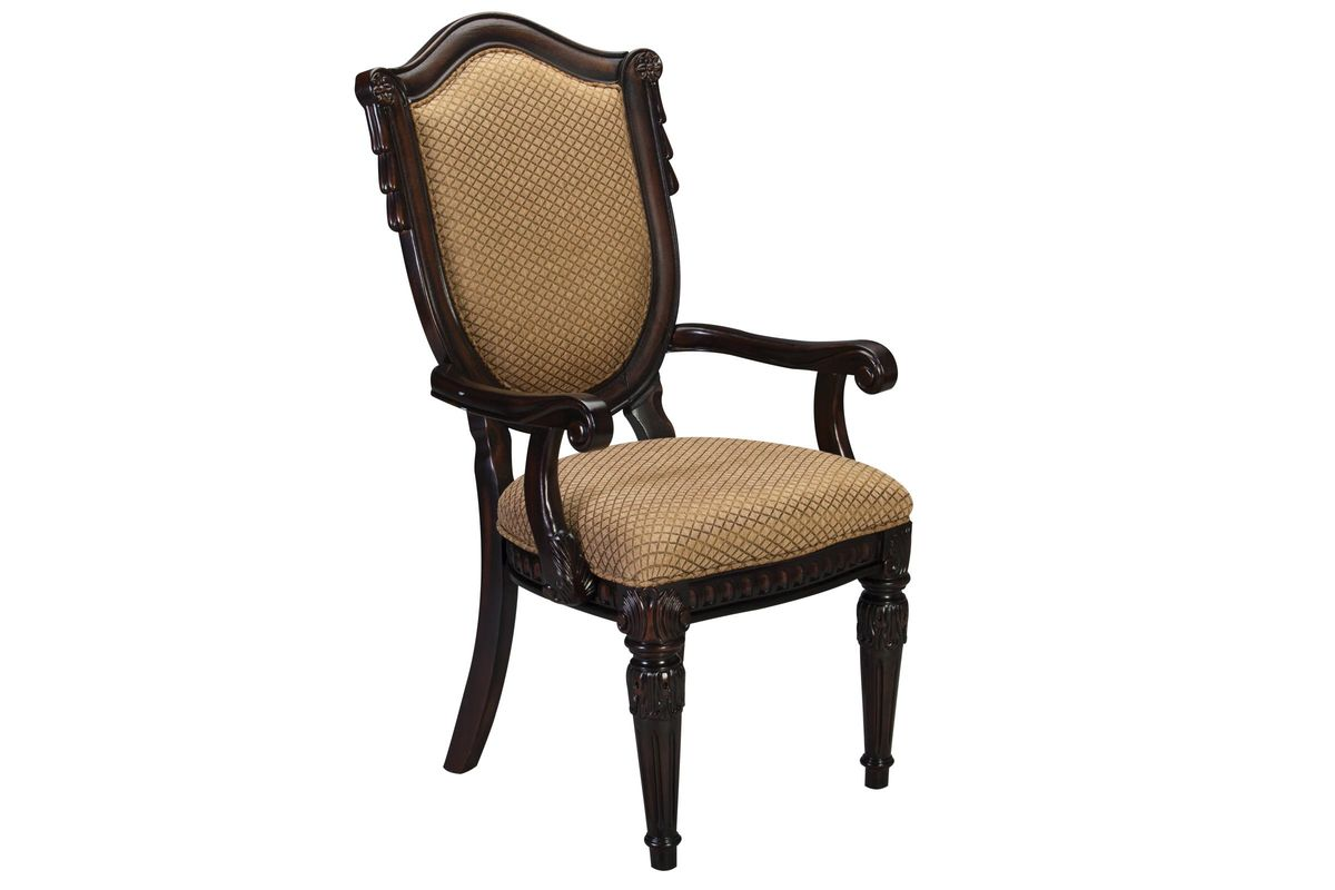Cabernet Upholstered Arm Chair from Gardner-White Furniture