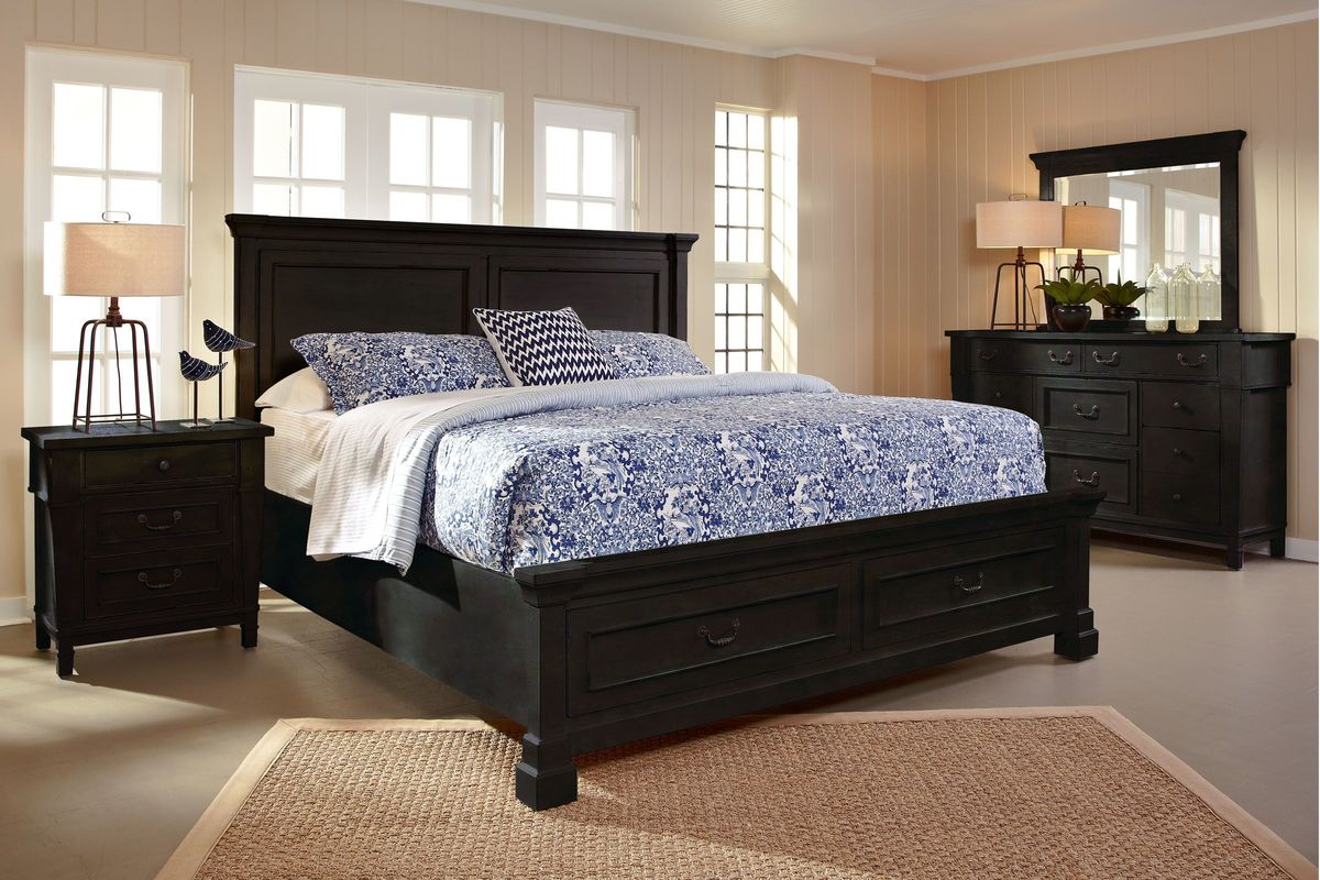 baldwin 5 piece queen bedroom set with 32 led tv