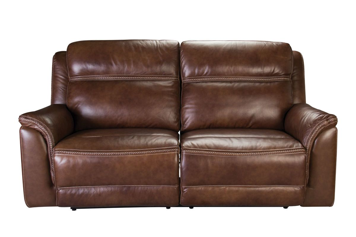 Leather Electric Reclining Sofa Fargo Leather Reclining