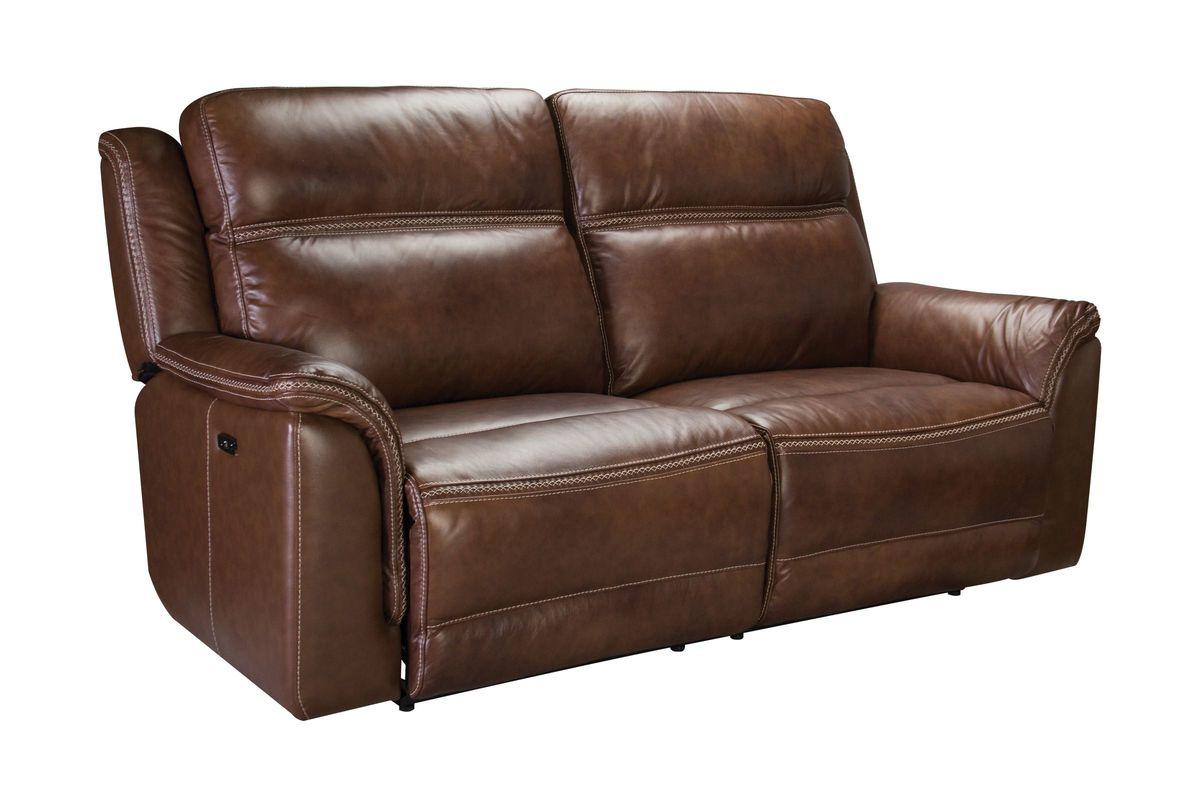 Fargo Leather Power Reclining Sofa At Gardner White