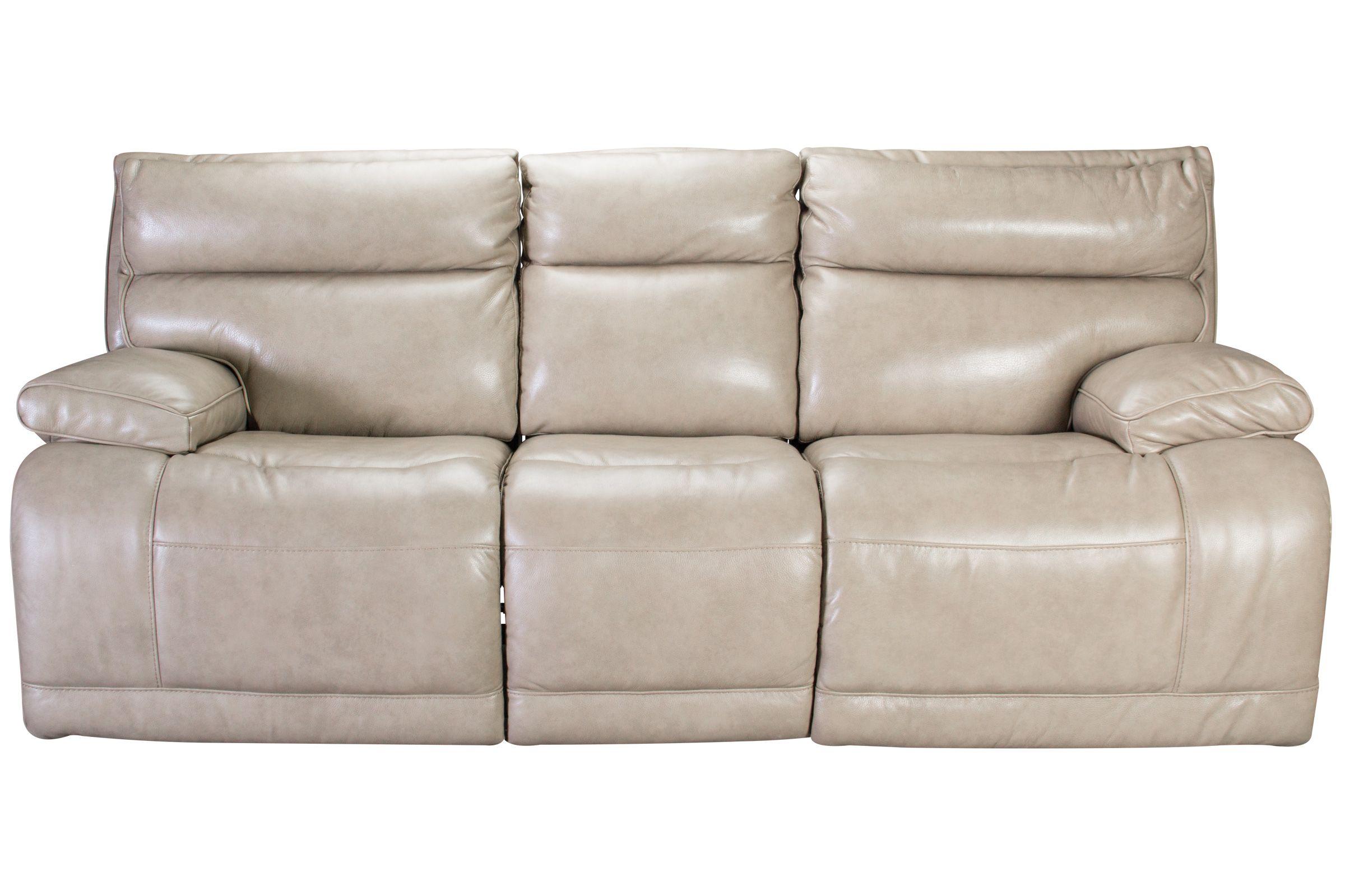 Austin Leather Power Reclining Sofa at Gardner-White