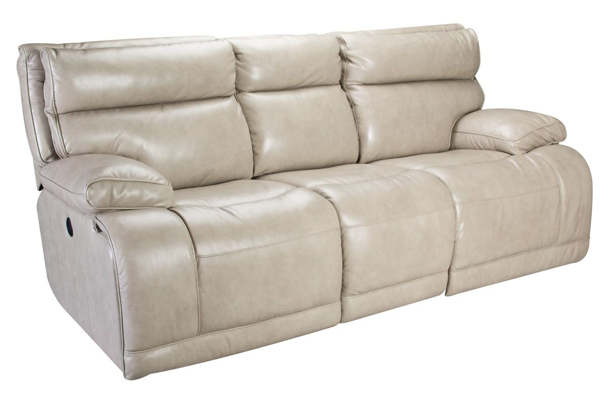 Austin Leather Power Reclining Sofa At Gardner White