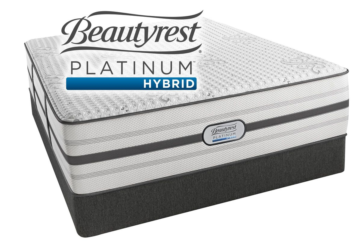 Add To Favorites Beautyrest Platinum Hybrid Mad Luxury Firm Queen Mattress