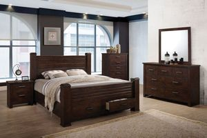 Archer 5 Piece Queen Bedroom Set With 32 Led Tv Now 1 499 99 1 349 99
