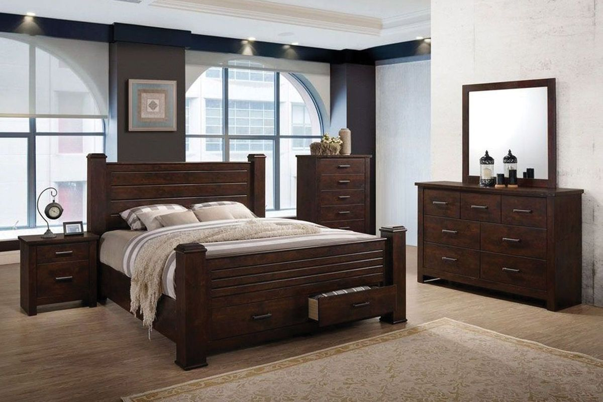 Archer king storage bed at gardner white for Gardner storage