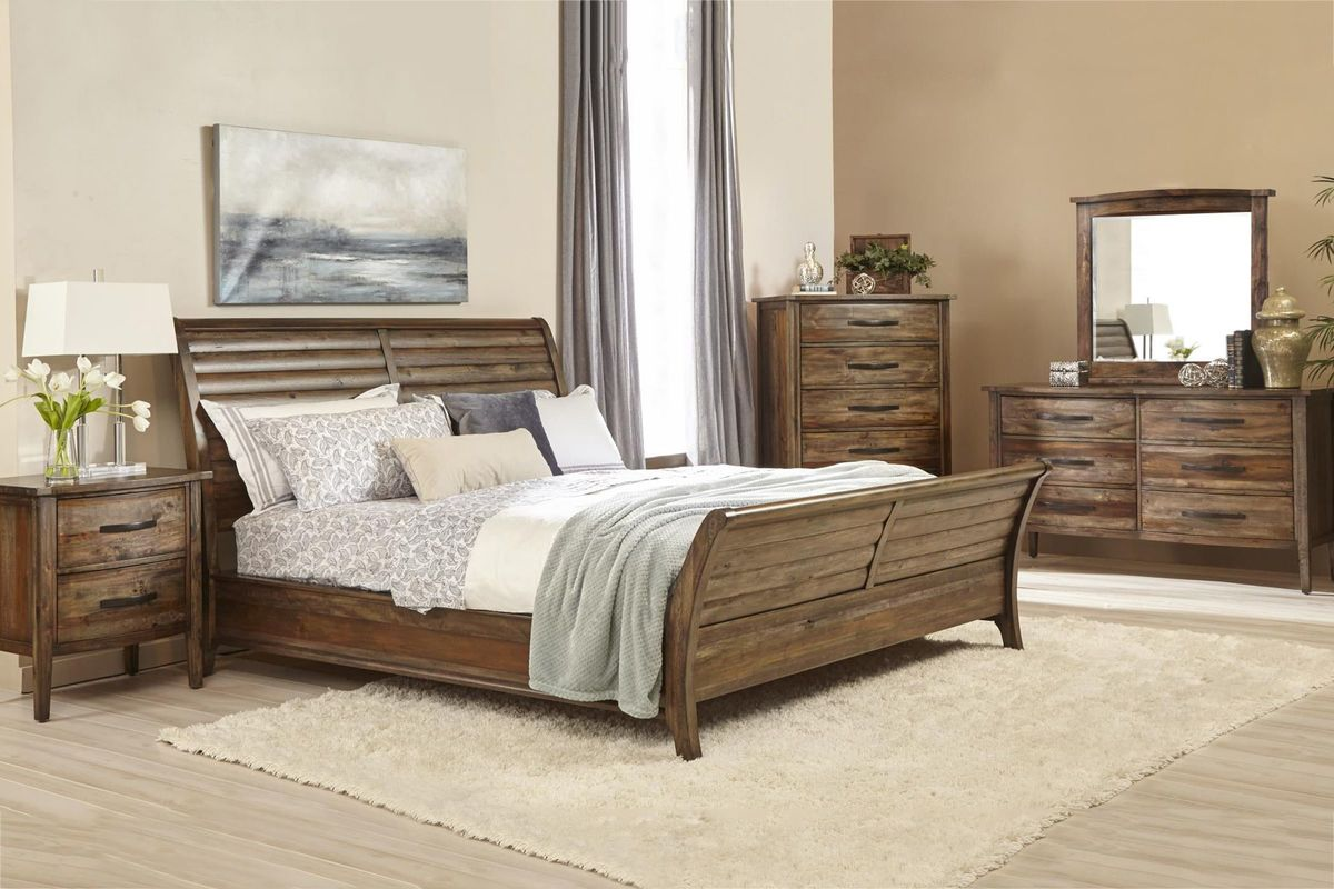 mindi 5 piece king bedroom set at gardner white. Black Bedroom Furniture Sets. Home Design Ideas