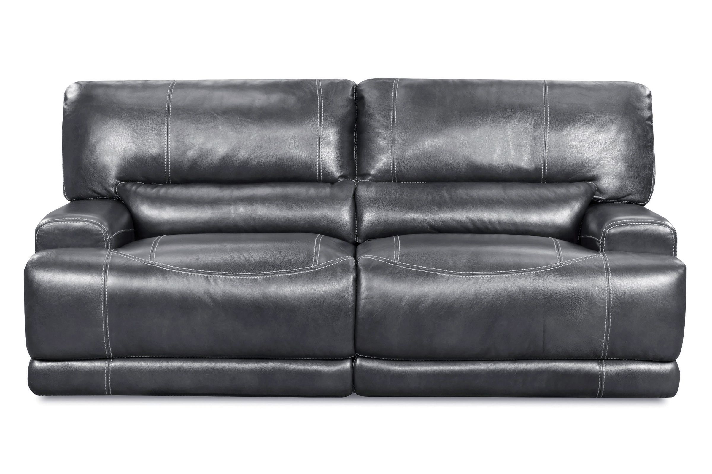 Cannon Leather Power Reclining Sofa