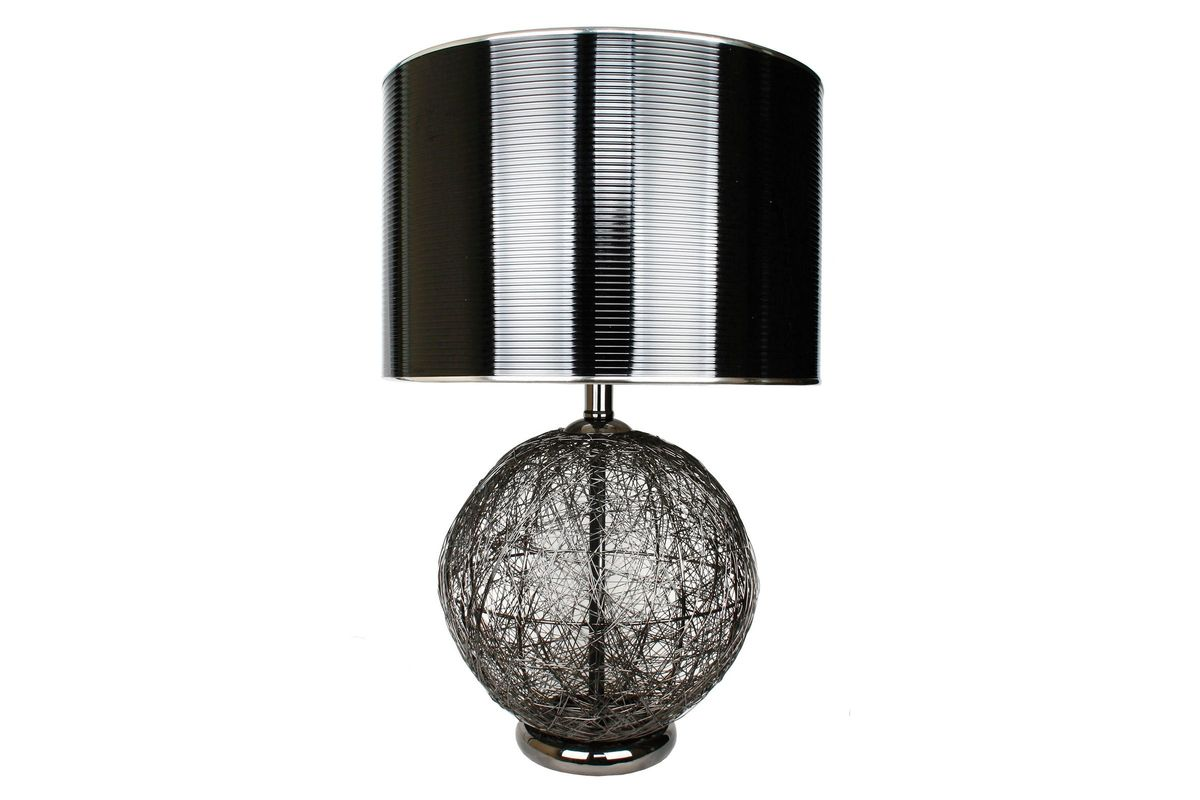 Wire gunmetal table lamp at gardner white wire gunmetal table lamp from gardner white furniture keyboard keysfo Image collections