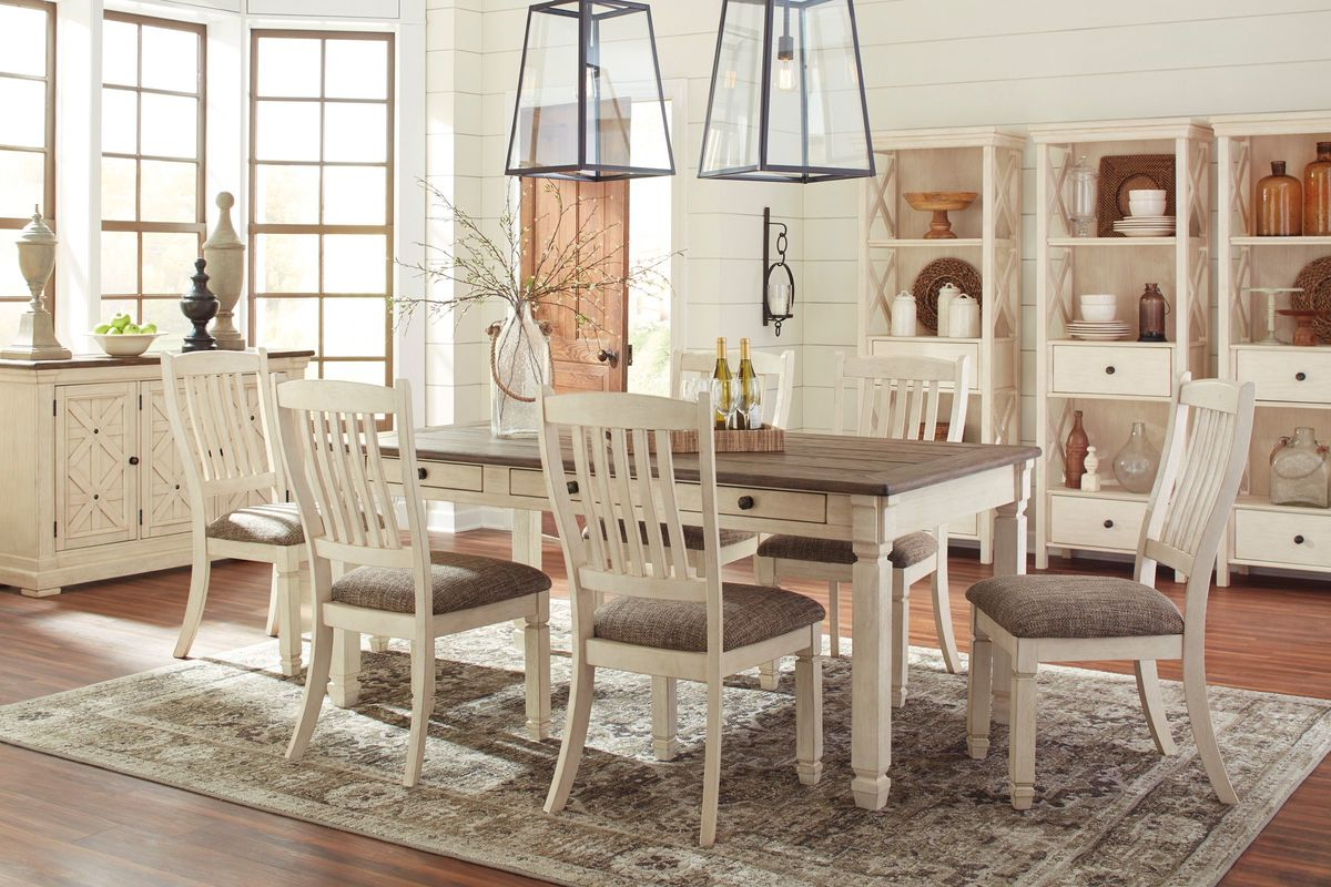 Bolanburg Dining Table With 4 Side Chairs At Gardner White