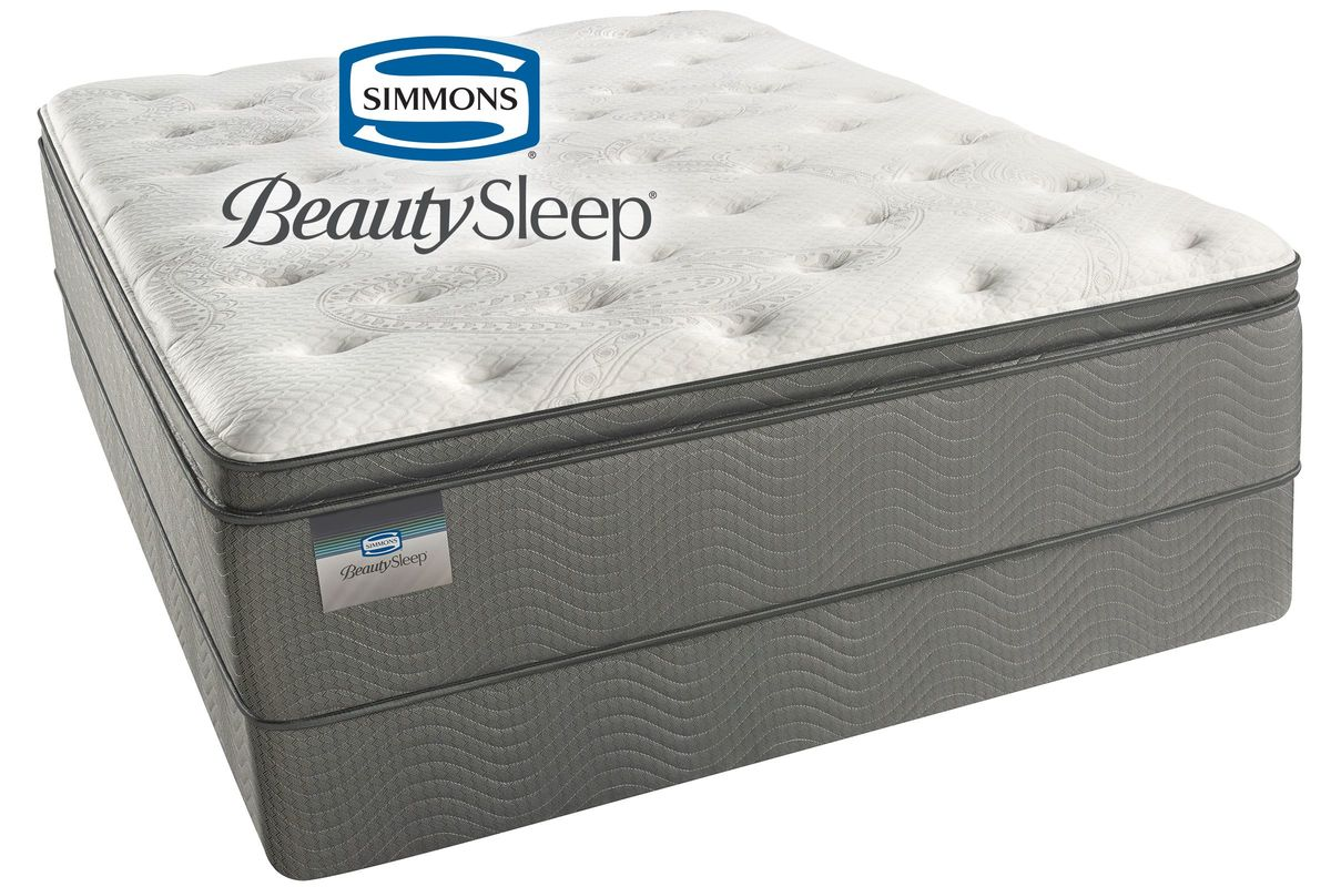 Simmons Beautysleep Sun Valley Plush Pillow Top Queen Mattress