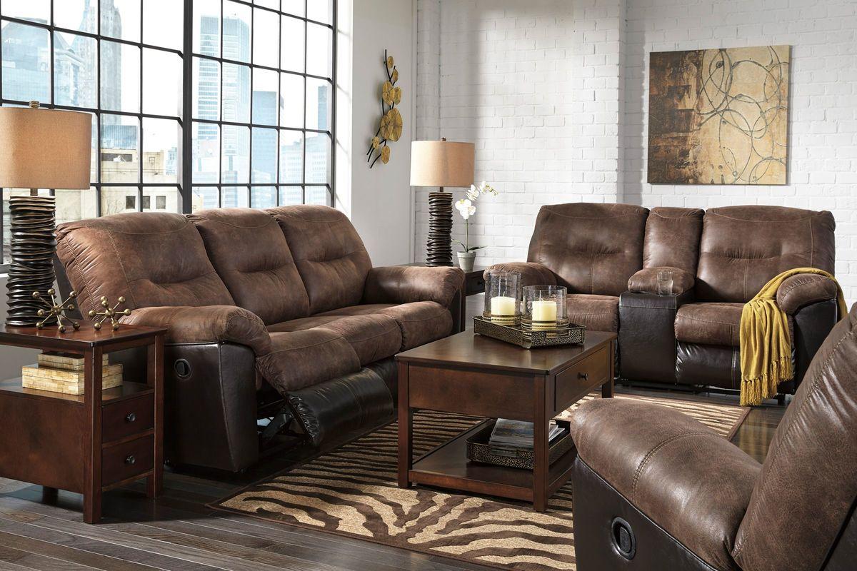 Austere Reclining Sofa Ashley Furniture Home