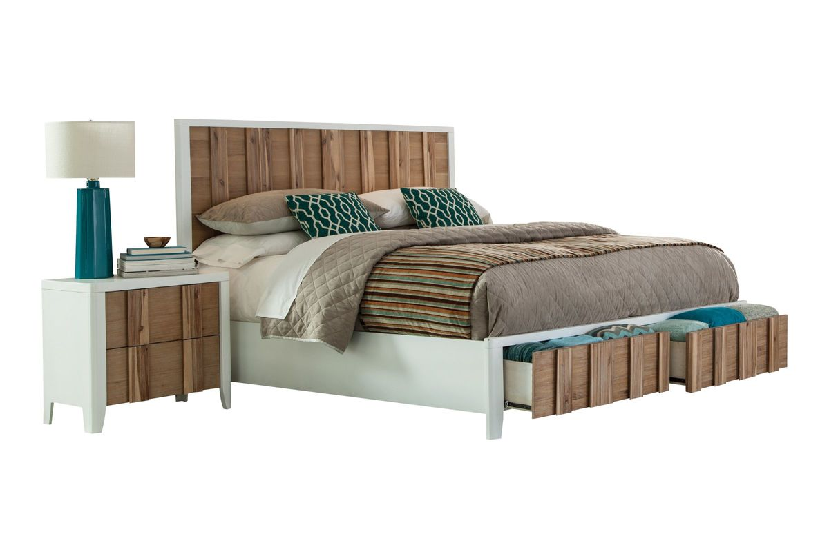 One of a kind vulcan king bed in the auburn hills outlet for One of a kind beds