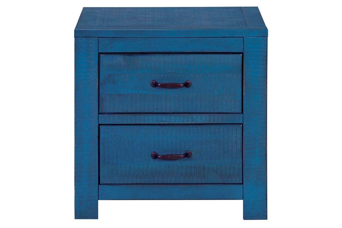 Blue Nightstand At Gardner White