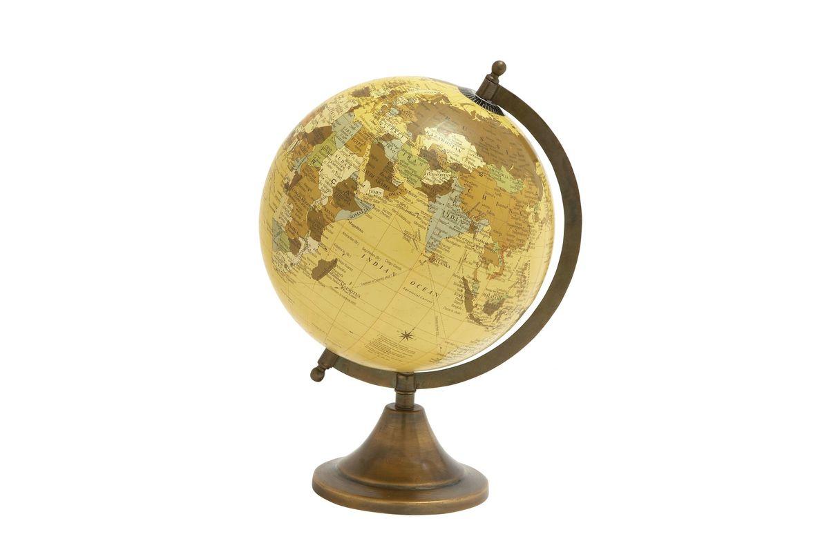 Classic Modern Vintage Globe in Bronze from Gardner-White Furniture