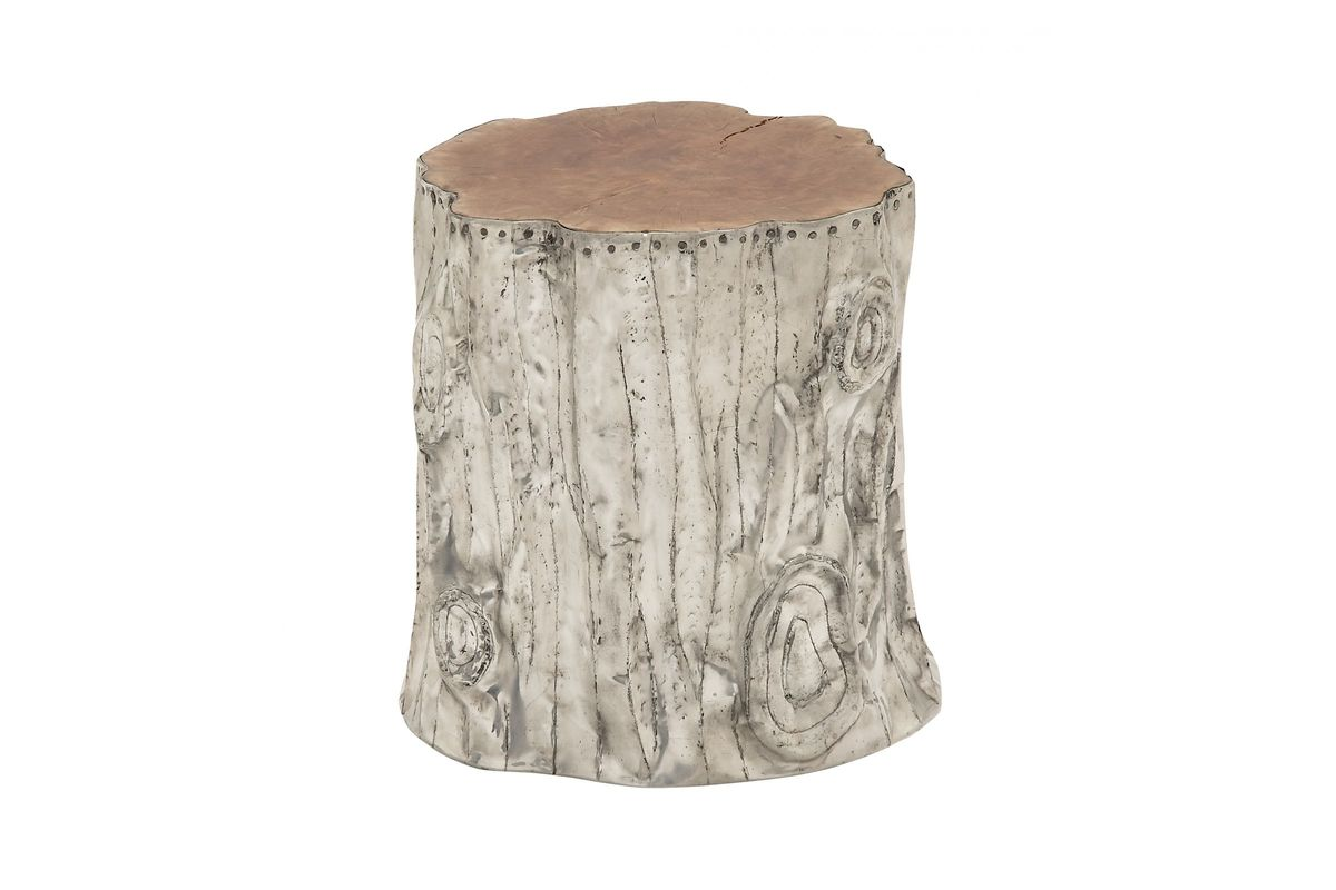 Stupendous Rustic Traditional Aluminum Tree Trunk Stool Squirreltailoven Fun Painted Chair Ideas Images Squirreltailovenorg